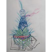 Dibujo Plastificado