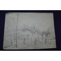 Dibujo Lapiz Paisaje -tomas Ditaranto (consult Stock)
