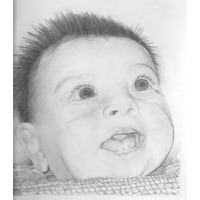 Retrato - Dibujo A Lápiz - Varias Técnicas