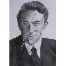 Retratos De Famosos Dibujos A Lapiz