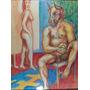 Cuadro Desnudos Firmado (c-126)