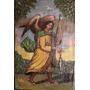 Oleo Miniatura Hispano]colonial Angel (150403)