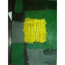 Oleo De Pequeño Formato, Bruno Venier, Abstracto .certicado