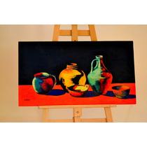 Pintura Al Oleo Sobre Mdf Directo Del Artista