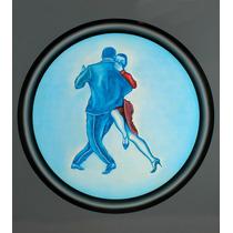 Oleos De Tango Originales 50 X 50 Cm. Rebajados