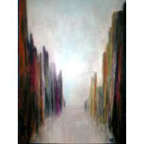 Pintura Expresionista En Óleo Al Pastel