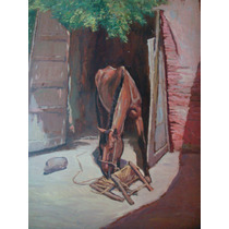 Oleo De Enrique Rodriguez, Hermoso Caballo , 40 X 70