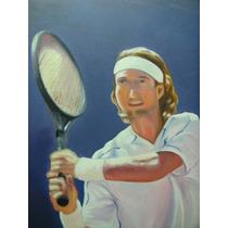 Gio Di Cianni, Jugador De Tenis, 50 X 70 Aprox.