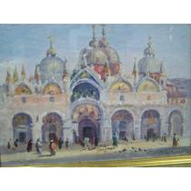 Oleo De Tomas Ditaranto Iglesia De San Marcos Venecia