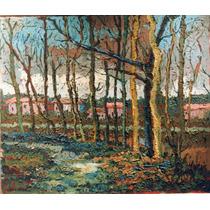 Julio Ducuron Arte Impresionismo Óleo Original Envío Gratis
