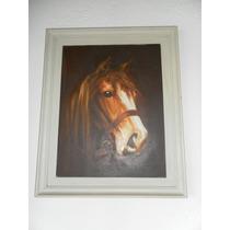 Cuadro Al Oleo -caballo-