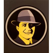 Serie De Carlos Gardel, Oleo Sobre Tela 50x50 Tango Project.