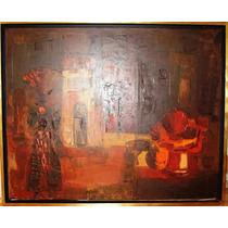 Pintura Oleo S/tela Original De Bruno Venier