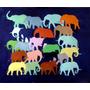 Cuadro Original De Camilo Lucarini - Elefantes Ida Y Vuelta