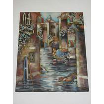 Cuadro Oleo ,,, Venecia