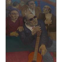 Pintura De Anuncio Iramain - El Ciego Pancho