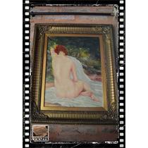 Excelente Oleo De Gaston Dubois (pintor Frances, 1837-1909).