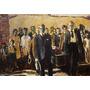 Funeral. Pintura Al Óleo Sobre Tela. 100x60 Cm