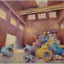 Cuadro Óleo S/tela Original De Alfredo Speroni- 120x120