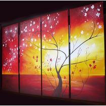 Cuadros Decorativos Abstractos Salon Sala De Estar Tripticos