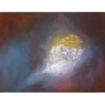 Pintura Al Óleo-cuadro Arte Contemporáneo-pintado A Mano.
