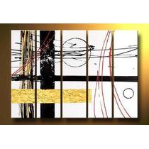 Cuadros Abstractos Texturados Dipticos O Tripticos.