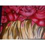 Oleo Tulipanes En Fuego `, Presentado En Exposicion De Arte