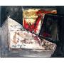 Cuadro Pintura Oleo Abstracto Original Firmado