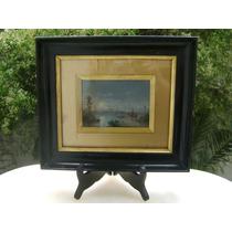 Cuadro Oasis Paul Pascal 1887 Pintura Francesa
