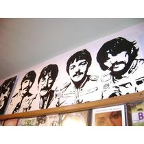 Cuadros The Beatles- Los Beatles- Retratos Musicos
