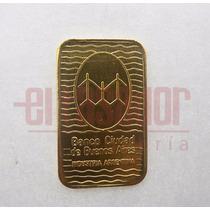 Lingote De Oro 24 Kts.10 G C/certificado De Nuestra Joyería