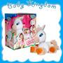 Caballo Pony Toffee Que Come Zanahoria Y Se Mueve. Original