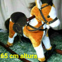 Caballo Mecedor Peluche Sonido Mueve La Boca 46x74cm Largo
