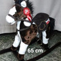 Surmarket Caballo Mecedor Peluche Sonido Mueve La Boca 65cm