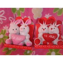 Peluches Conejos Día De Los Enamorados