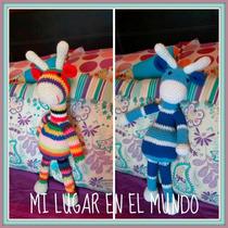 Jirafa Tejida A Crochet - Amigurumis