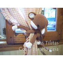 Par Monos Sujetacortina - Tejido Crochet Amigurumi Animales