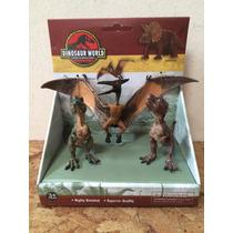 Dinosaurio Colección Por Tres Unidades