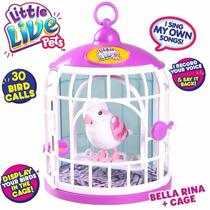 Pajarito Little Live Pet Bird En Jaulita - Lorito Parlanchin