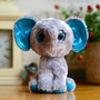 Peluche Elefante Peanut, Beanie Boo Ty Original, 15cm