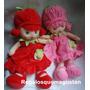 Muñecas Frutillitas Varios Colores Importadas Envios
