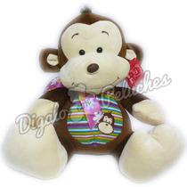 Mono De Peluche Importado Hipoalergenico