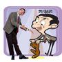 Oso Teddy Mr Bean Importado + Dvd Serie Animada Completa