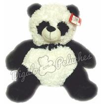 Oso Panda De Peluche Opcional Corazon Digalo Con Peluches