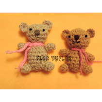 Amigurumis Ositos Animalitos Tejidos A Crochet Osos Souvenir
