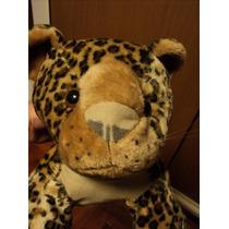 Peluche Leopardo De 60 Cm De Largo