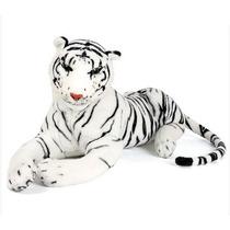 Peluche Tigre Blanco 45cm Excelente Calidad Funny Land