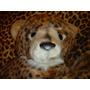 Peluche Leopardo Acostado Mide 70 Cm.