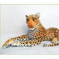 Leopardo De Peluche Grande Con Sonido