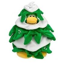 Peluche Club Penguin - Disfraz De Árbol - Sin Moneda